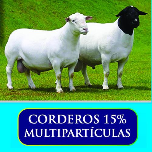 Corderos 15% multiparticulas